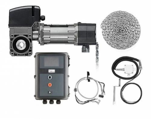 Электропривод для промышленных ворот STA1-10-24 KE/400V с внешним БУ CS300